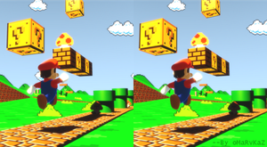 Super Retro Bros1 Stereoscopic by zabaz