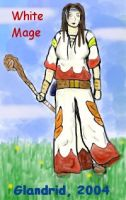 Coloured White Mage by Glandrid