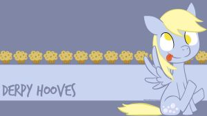 Derpy Wallpaper by Happbee
