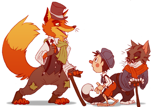 hi-diddle-dee-dee by Scarfowl