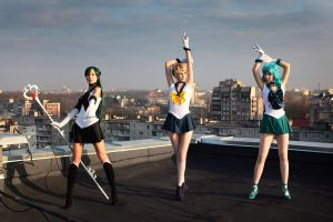 Sailor Moon - Outers by tajfu