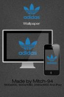 adidas wallpaper and iPhone by Mitch-94