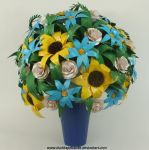 Duct Tape Spring Vase by DuckTapeBandit