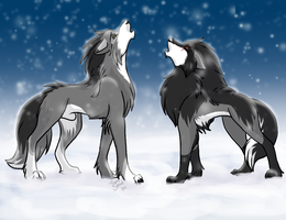 A Howl in Unison: K and C by DrMario64