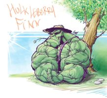 Hulk Leberry Finn by Tursy
