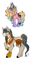 Eventideponies Design Commission by KingRefi