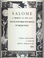 Salome Frontispiece by Marker-Mistress