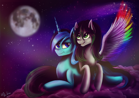Commission: Speedpaint and Veret by Das-Leben