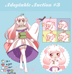Adoptable Auction #3 CLOSED by anjunekomimi