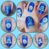 Avatar Manicure by MikariStar