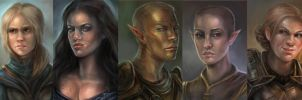 Dragon Age Origins by artastrophe