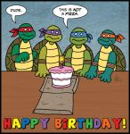 TMNT Birthday by StudioBueno
