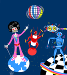 70s space disco by zenbolic-vision