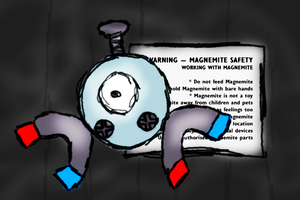 AC - Magnemite by FlamingClaw