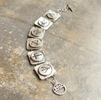 Silver Molly's Bracelet by Peaceofshine