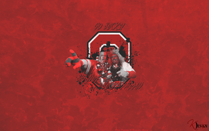BigNut and Buckeyeman Wallpaper by KevinsGraphics