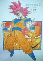 Dragonball Z - Goku SSJ God - Battle of Gods V1 by TriiGuN