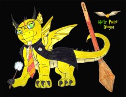 Harry Potter Dragon by Kirps