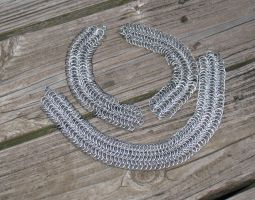 European chainmail set by DracoLoricatus