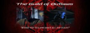 The Guild of Outlaws Lord Maul and Cad Bane Banner by JessicaBane501