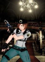 jill valentine whit color by knight-alui
