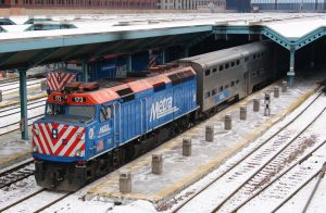 Metra F40PH2 173 by JamesT4