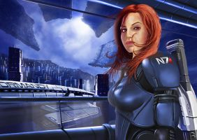 Mass effect by blouson