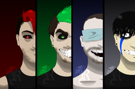 Dark Sides of Youtubers by Metallica-fan-girl