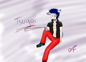 Tsuyoi new OC by Aroa-Samanta