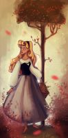 Briar Rose coloring by Celiarts