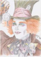 The mad hatter by DragonaTodd
