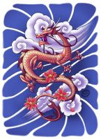 Oriental Dragon by Chad73