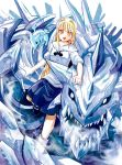 ice dragon by garun