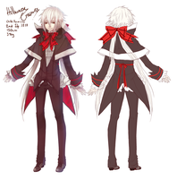 HA: Halloween Crosswise Ref by Aidontknow