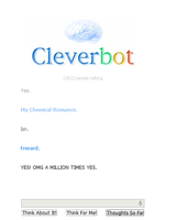 OMG CLEVERBOT 8D by dobbyluv2