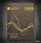 Conceptual report cover by w0lfb0i
