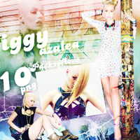 Png pack #22 iggy azalea by blondeDS