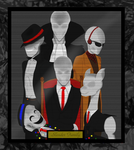 Creepy-Portrait_Slender Family by Masked-carder