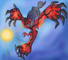 Yveltal by Cinnamon-Quails