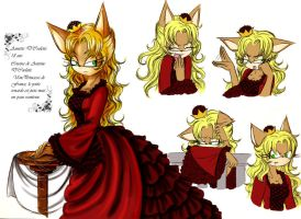 New OC: Annette D'Coolette by skipperofotters05