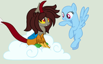 Encountering Milly- Collab by Tailmouth-Cupcake