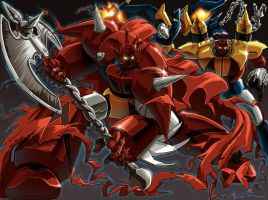 Getter Robo G by Omni X + REX by Robot-Japan