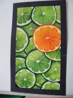 Limes and Orange by Staraya