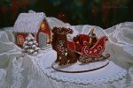 Gingerbread Sleigh and House by GingerbreadFairy