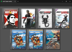 Just Cause Series by GameBoxIcons