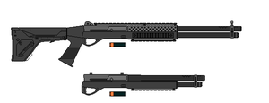 Benelli Vinci 12 ga. Tactical by airsoftfarmer