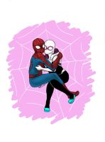 Spiders by minihumanoid