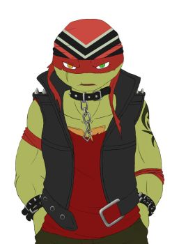 TMNT StreetPunks Rebel by CherryDion