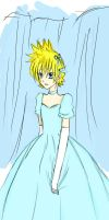 Roxas with Glass Slippers by terrahotaru