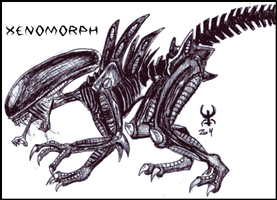 First Xenomorph by metallixfaker